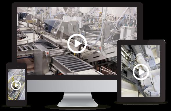 Vidéos de solutions sur mesure en équipement automatisé